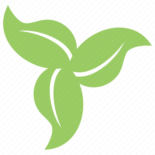 ecology leaves, floral, green leaves, leafy flower, swirl leaves icon