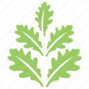 leafy design, oak leaf twig, oak leaves, oak leaves design, toothed leaves icon