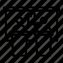 silhouette, computer, business, logo, person, conference, debate icon