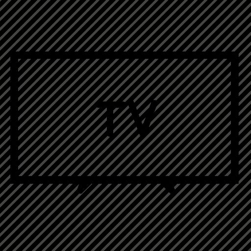 lcd tv, led tv, monitor, television, tv, tv monitor, tv screen icon