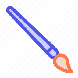 artist, brush, draw, paint, style, tool icon