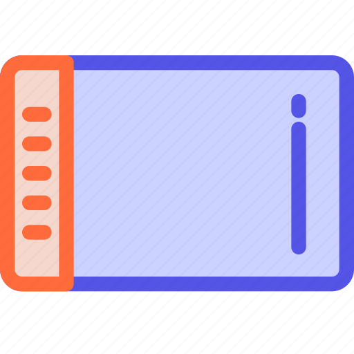designer, draw, graphic, illustrator, tablet icon