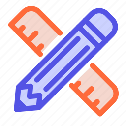 app store, draw, pencil, style, tools icon
