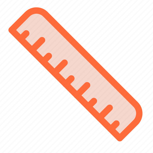 grid, marking, ruler, size, tool icon