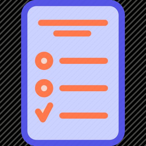 checklist, list, tablet, task, to-do list icon