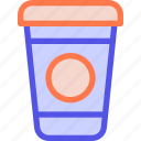 coffee, drink, glass, morning, peppy icon