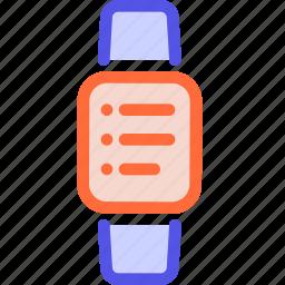 applewatch, bracelet, fitness tracker, smart watch, watch icon