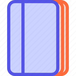 book, moleskine, notebook, organizer, pad icon