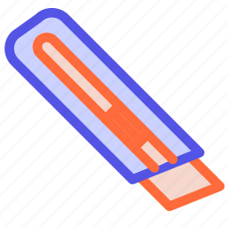 blade, knife, stationery, tool, utility icon