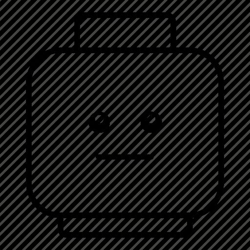 emoticon, emoticons, emotion, emotions, face, neutral, smiley icon