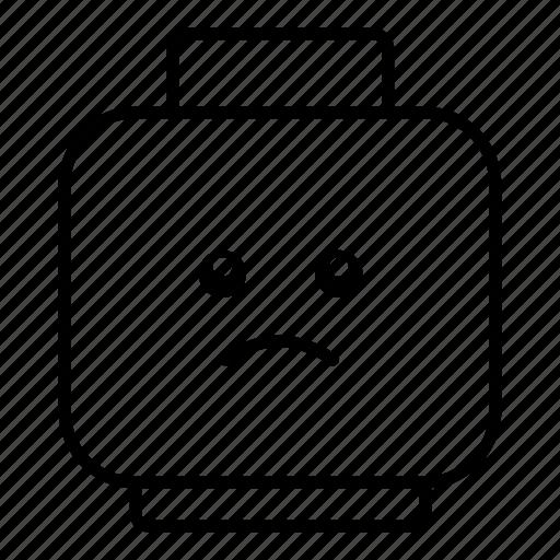 emoticon, emoticons, emotion, emotions, face, sad, smiley icon