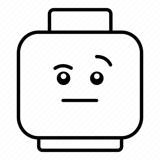 emoticon, emoticons, emotion, emotions, face, smiley, wondering icon