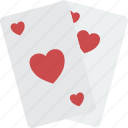 cards, game, hobby, leisure, playing icon