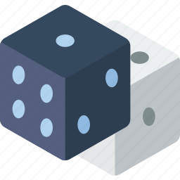 dice, game, hobby, leisure icon