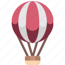 air, balloon, game, hobby, leisure, sport icon