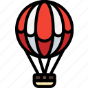 air, balloon, hobby, leisure icon
