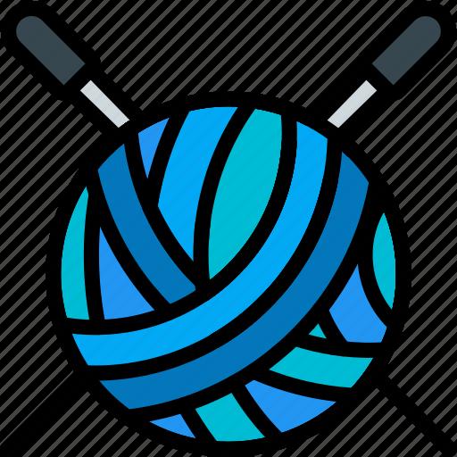 game, hobby, knitting, leisure icon