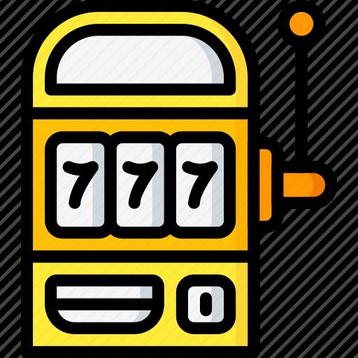 game, leisure, machine, slot icon