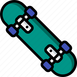 game, hobby, leisure, skateboard, sport icon