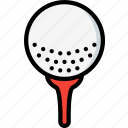 ball, game, golf, hobby, leisure, sport icon