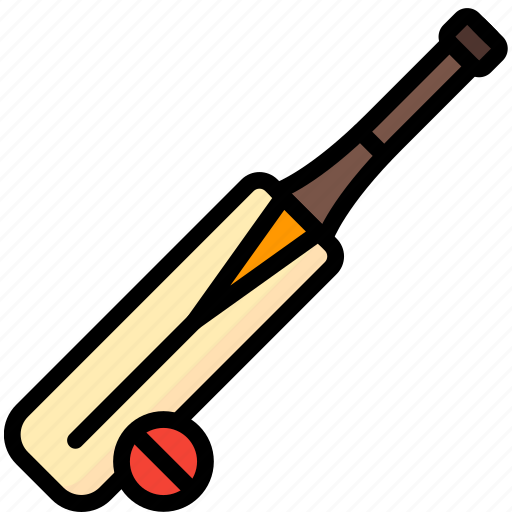 cricket, game, hobby, leisure, sport icon