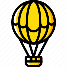 air, balloon, hobby, leisure icon