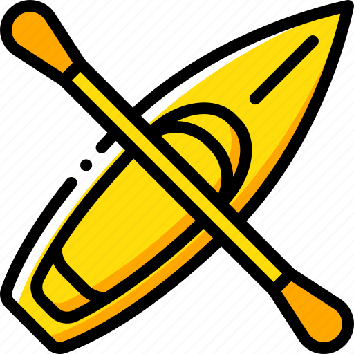 canoe, game, hobby, leisure, sport icon