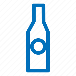 alcohol, bottle, drink, glass icon