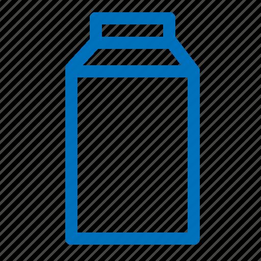 box, drink, juice, milk icon