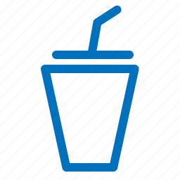 cup, drink, glass, shake, straw, togo icon