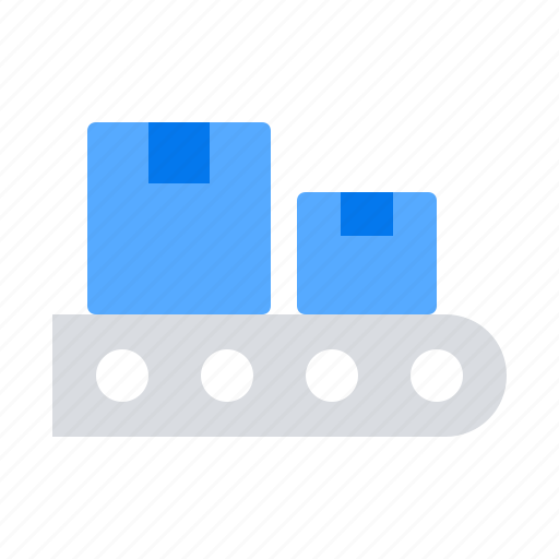 Belt, conveyer, package icon - Download on Iconfinder