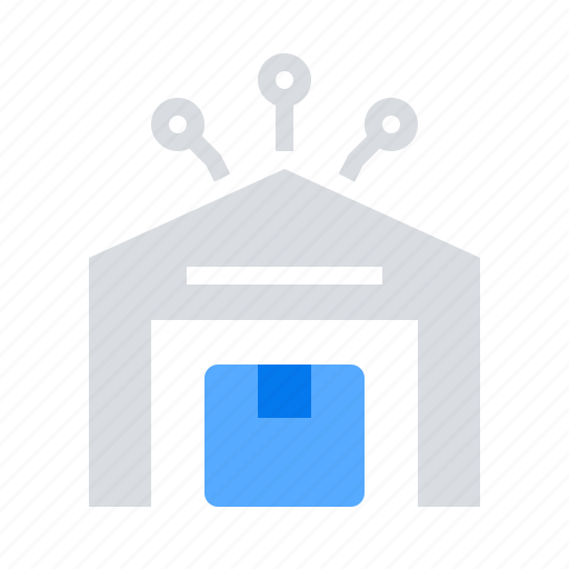 delivery, parcel, warehouse icon