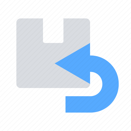 package, parcel, return icon