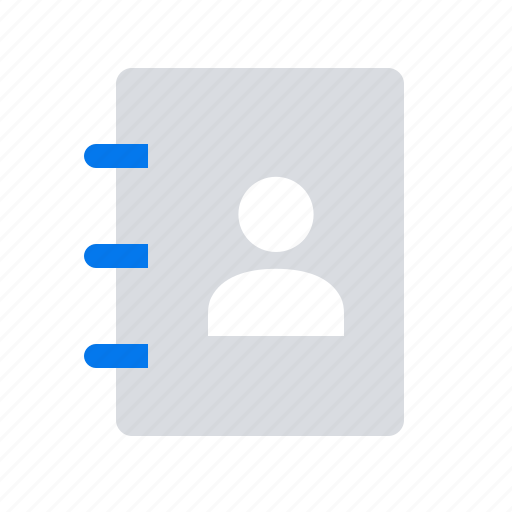 contact, human, list, profile, resources icon