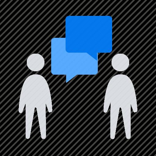 conversation, dialogue, discuss icon
