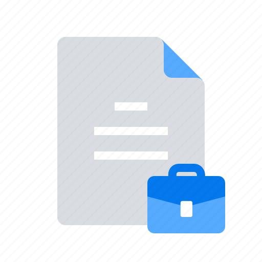 case, document, office icon