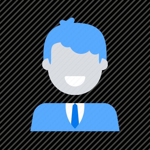 employee, male, man, worker icon