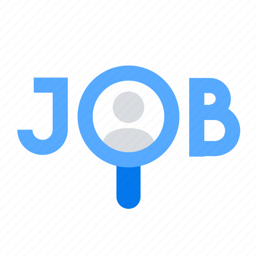 Job, magnifier, search icon - Download on Iconfinder