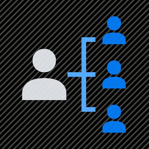 boss, hierarchy, leader icon