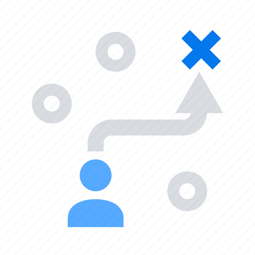career, path, solution, strategy icon