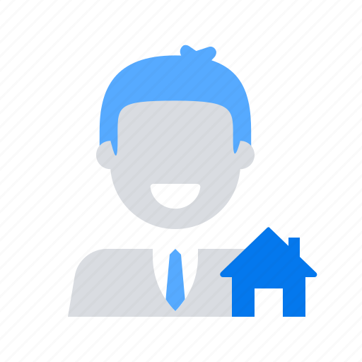 agent, property, real estate icon