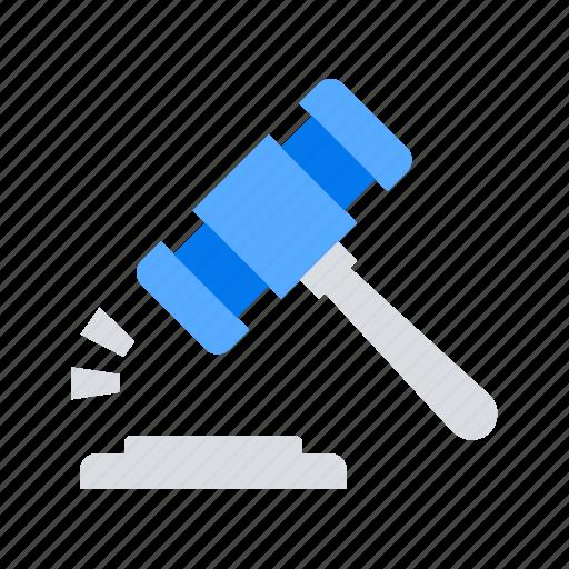 auction, court, mortage icon
