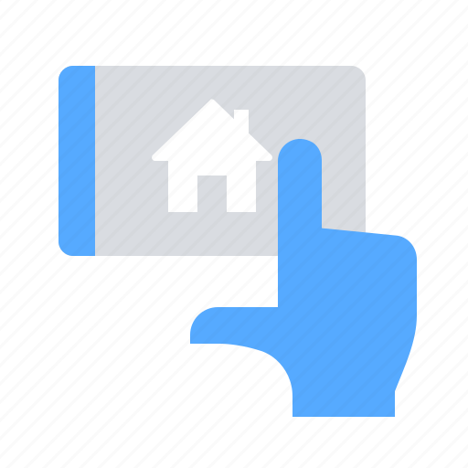 Mobile, online, property icon - Download on Iconfinder