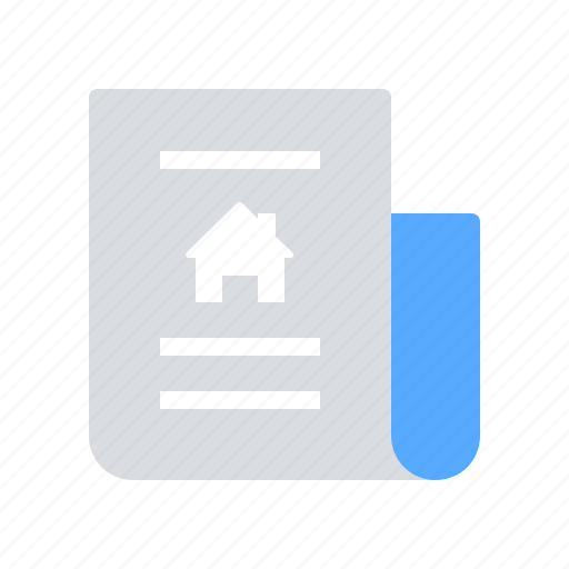 Document, house, property icon - Download on Iconfinder