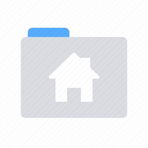 folder, house, project icon