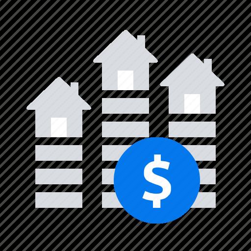 price, property, real estate icon