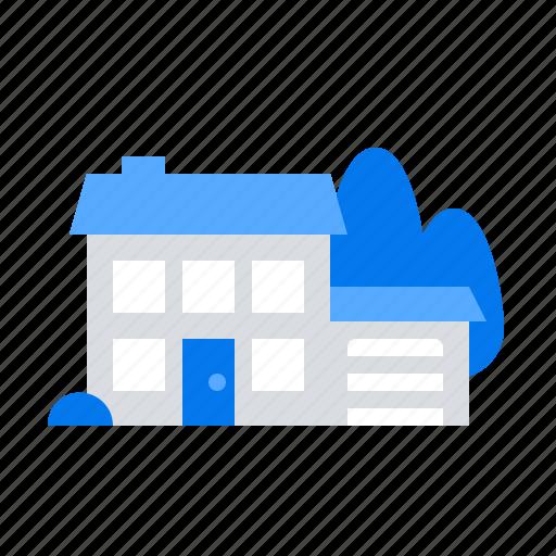 Garage, house, modern icon - Download on Iconfinder