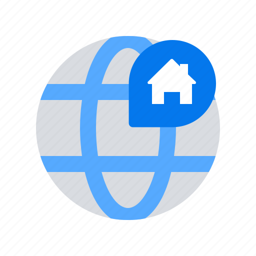 location, map, property icon
