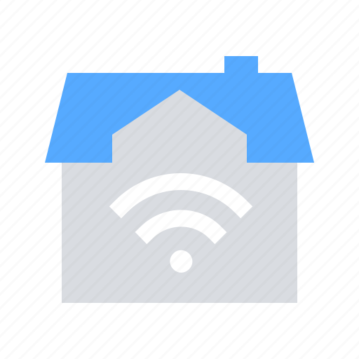 House, smart, wifi icon - Download on Iconfinder