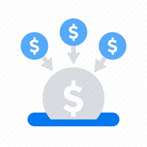 crowdfunding, fundraising, funds, money icon